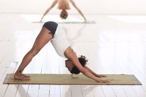 downward facing dog pose kundalini yoga pose Adho Mukha Svanasana
