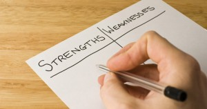 identify your strengths and weaknesses