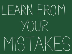 view failures as learning experiences