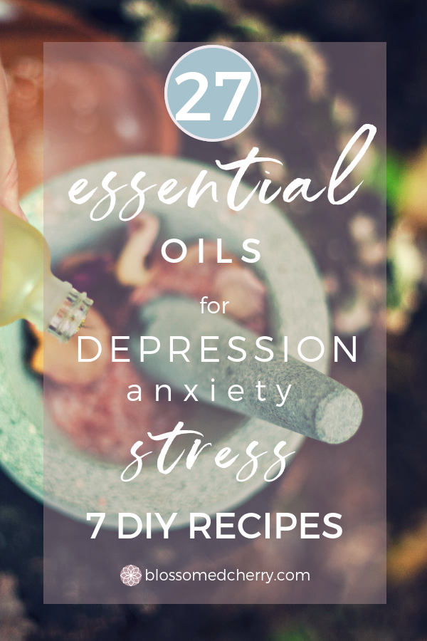 essential oils for depression